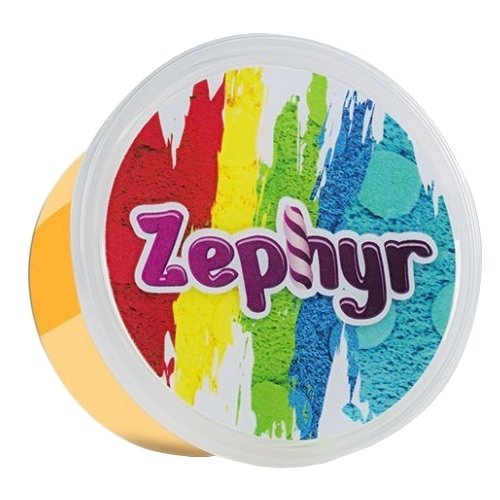 Масса для лепки Zephyr Огненный лис, оранжевая 150 г (00-00000740/Z105) масса для лепки zephyr солнечный цып желтая 150 г 00 00000743 z101