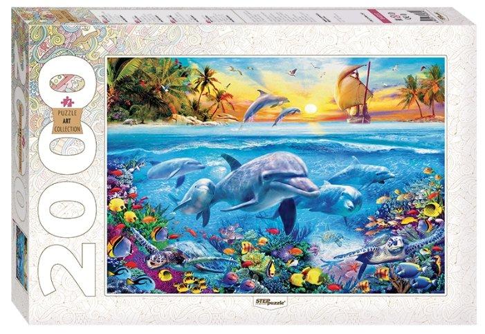 Пазл Step puzzle Art Collection Дельфины (84032), 2000 дет.