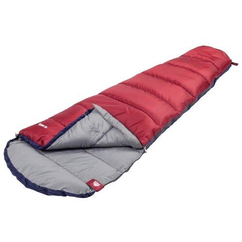 Спальный мешок TREK PLANET Scout JR синий/красный с левой стороны