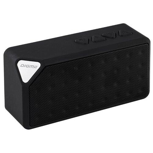 Портативная акустика DIGMA S-20 черный