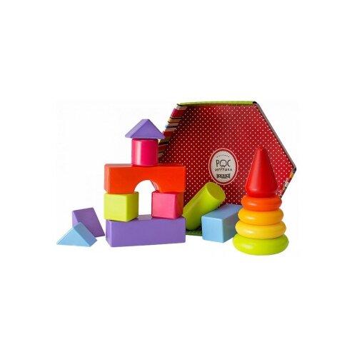 Купить Кубики Росигрушка Клепа 2148, Детские кубики
