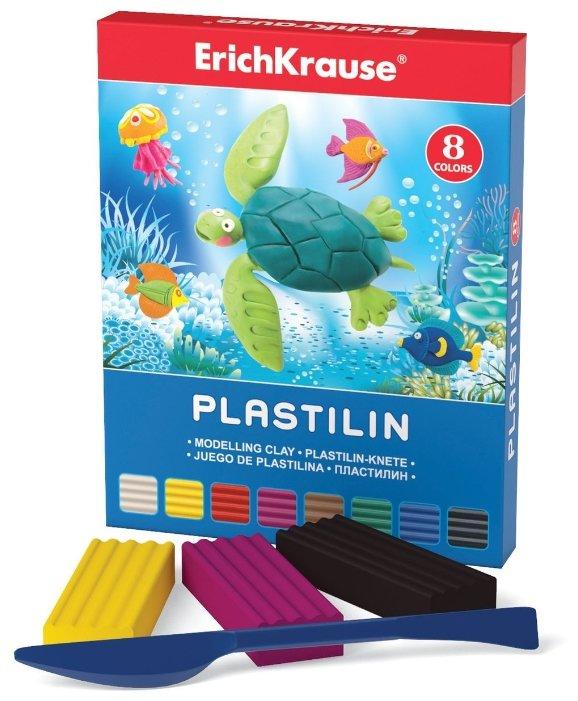 Пластилин ErichKrause Классический 8 цветов/144 г (30651)