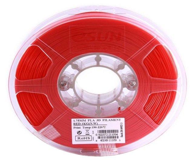 PLA пруток ESUN 1.75 мм красный