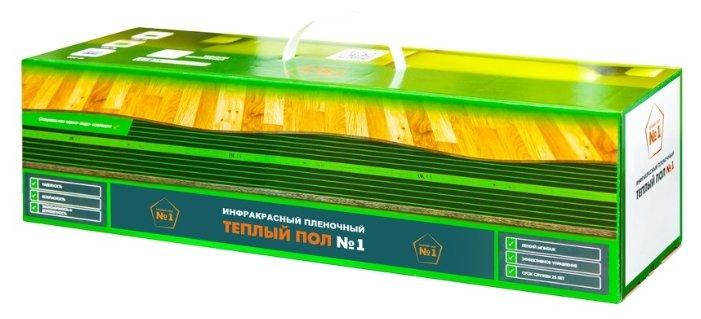 Электрический теплый пол Теплый пол №1 ПТСП-220-1.0 220Вт/м2 1м2 220Вт