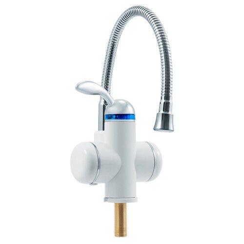 Фото - Кран нагрева электрический UNIPUMP BEF-001-02, белый/хром кран нагрева электрический unipump bef 001 02 белый хром