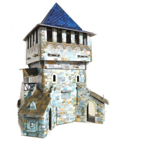 Сборная модель Умная Бумага Верхняя башня (242-01)