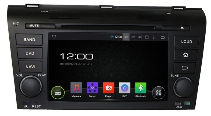 FarCar s130 Mazda 3 2004-2009 Android (R161)