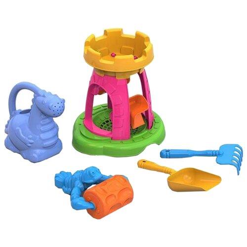 Набор Нордпласт 431858 №132, голубой/зеленый/розовый/желтый/оранжевый по цене 454
