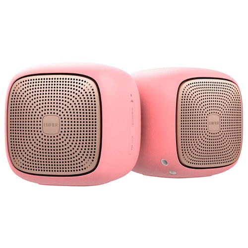 Портативная акустика Edifier MP202 DUO розовый