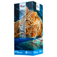 Пазл Step puzzle Plastic Collection Леопарды (98009) , элементов: 300 шт.