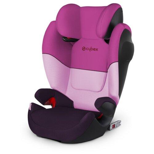 Автокресло группа 2/3 (15-36 кг) Cybex Solution M-Fix SL, Purple rain child car safety seat cybex solution m fix sl 2 3 15 36 kg 3 up to 12 years isofix chair baby car seat kidstravel group 2 3