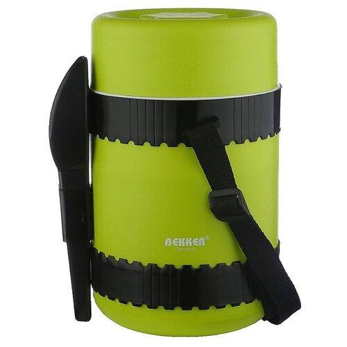 Термос для еды Bekker BK-4346 зеленый