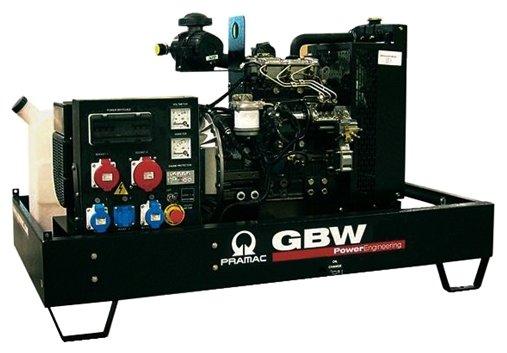 Дизельная электростанция Pramac GBW 22 Y 230V с АВР