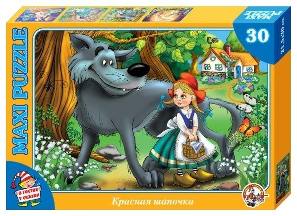 Пазл Десятое королевство В гостях у сказки Красная шапочка (01074), 30 дет.