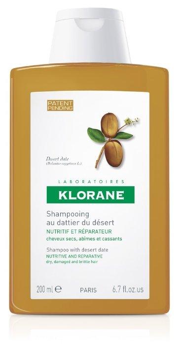 Klorane шампунь Nutri-Reparative with Desert Date