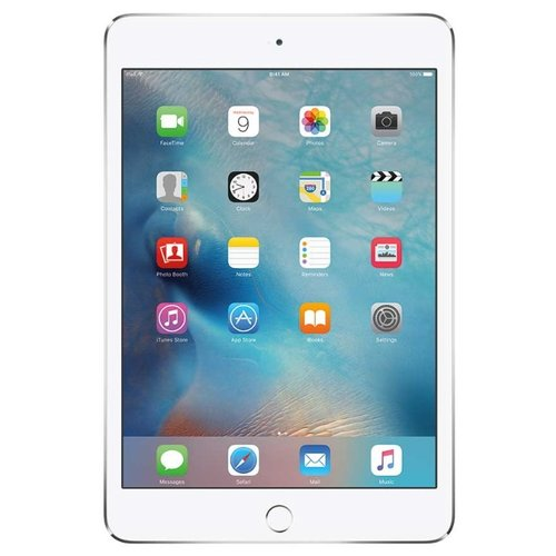 Купить Планшет Apple iPad mini 4 128Gb Wi-Fi + Cellular silver
