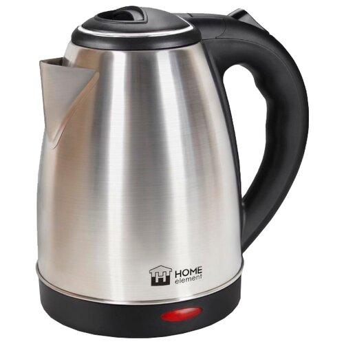 Чайник Home Element HE-KT-180, серебристый чайник home element he kt 174 сталь