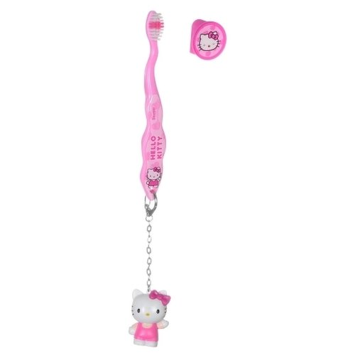 Купить Зубная щетка Dr. Fresh Hello Kitty HK-4 3+, розовый, Гигиена полости рта