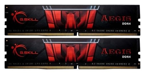 Оперативная память 16Gb DDR4 3000MHz G.Skill Aegis (F4-3000C16D-16GISB) (2x8Gb KIT)