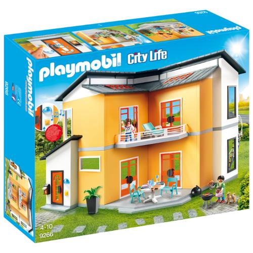 Купить Набор с элементами конструктора Playmobil City Life 9266 Современный жилой дом, Конструкторы