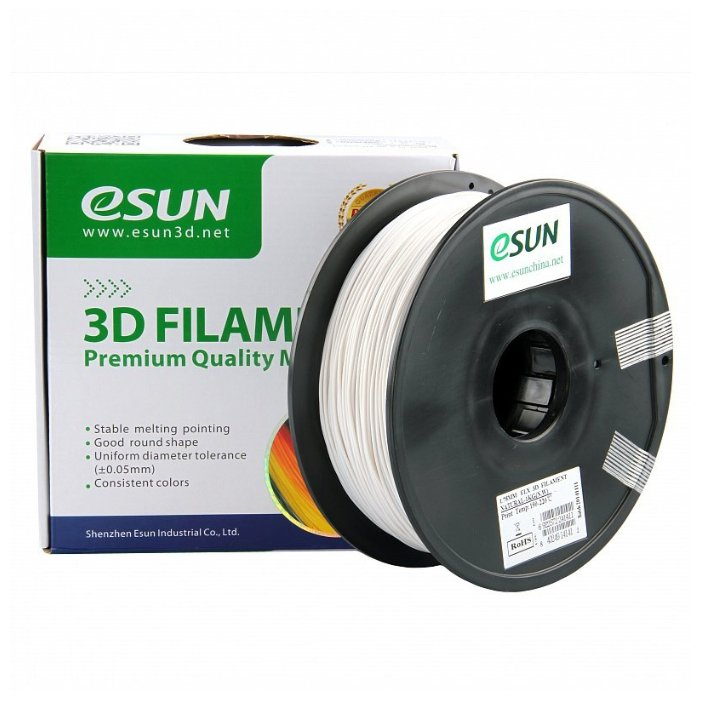 ELastic(TPE) пруток ESUN 1.75 мм натуральный