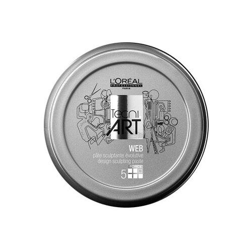 Купить L'Oreal Professionnel Моделирующая паста Tecni.Art Web, экстрасильная фиксация, 150 мл