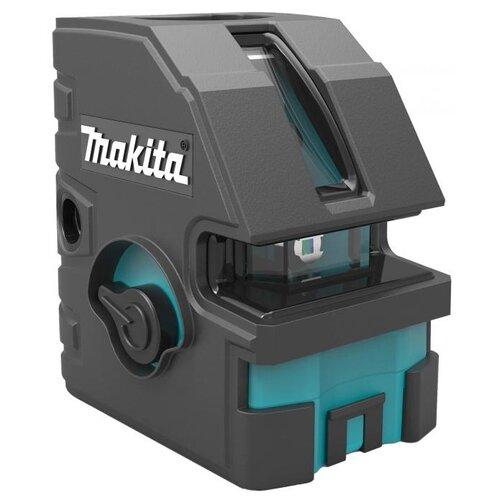 Лазерный уровень самовыравнивающийся Makita SK103PZ уровень лазерный makita sk102z линейный крест линия 15 30м ±0 3мм м