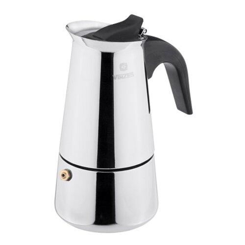 Кофеварка Vinzer 89393 (9 чашек), серебристый