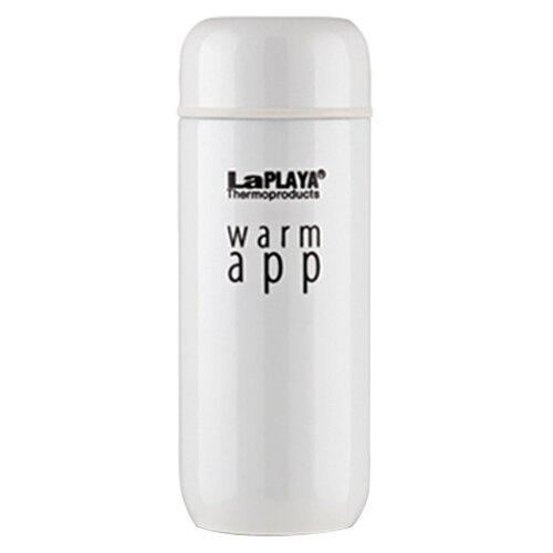 цены Термокружка LaPlaya Warm App (0,2 л) white