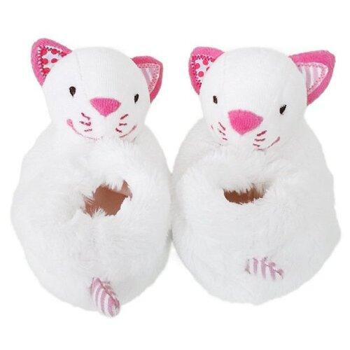 Купить Погремушка Жирафики Кошечка Кити 939464 белый/розовый, Погремушки и прорезыватели