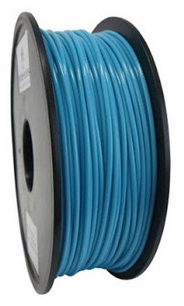 PLA пруток Wanhao 3 мм голубой