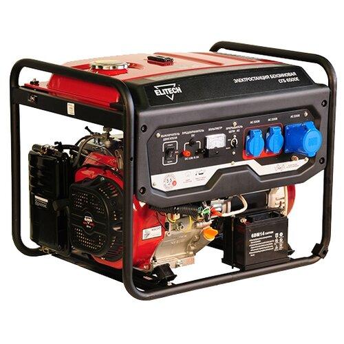 цена на Бензиновый генератор ELITECH СГБ 6500ЕАМ (5000 Вт)