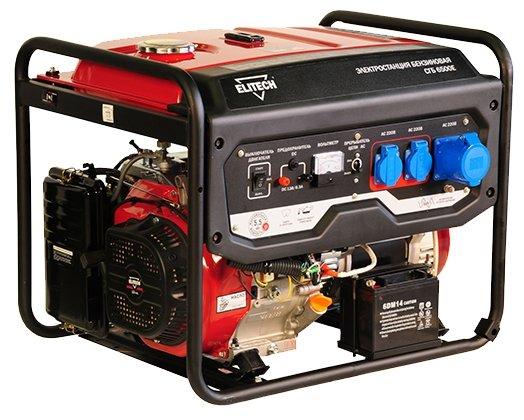 Бензиновый генератор ELITECH СГБ 6500ЕАМ (5000 Вт)
