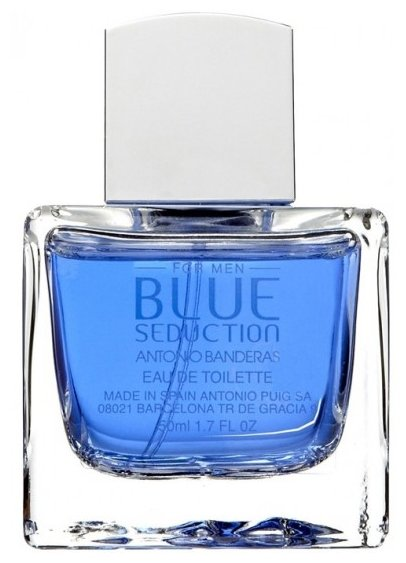Туалетная вода Antonio Banderas Blue Seduction for Men