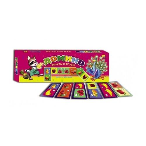 Фото - Настольная игра Рыжий кот Фрукты и ягоды ИН-7443 коробка рыжий кот 33х20х13см 8 5л д хранения обуви пластик с крышкой