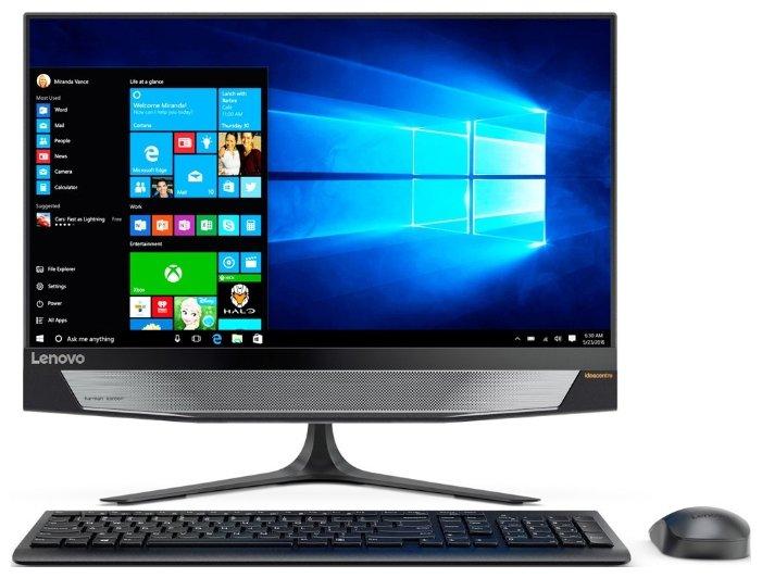 Компьютер LENOVO IdeaCentre 720-18APR, AMD Ryzen 3 2200G, DDR4 4Гб, 1000Гб, AMD Radeon Vega 8, noOS, серебристый и черный [90hy003jrs]