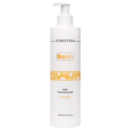 цена на Christina гель очищающий с фруктовыми кислотами для всех типов кожи, 300 мл