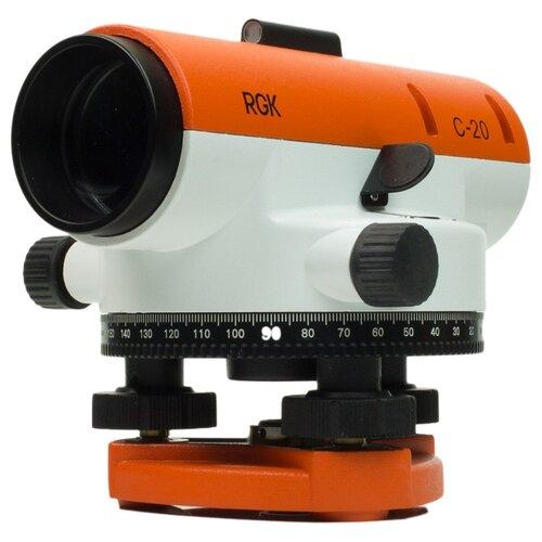 цена на Оптический нивелир RGK C-20 (4610011870552)