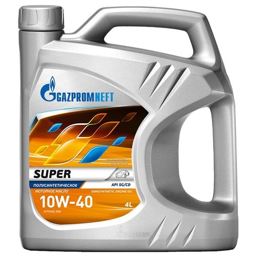 Моторное масло Газпромнефть Super 10W-40 4 л