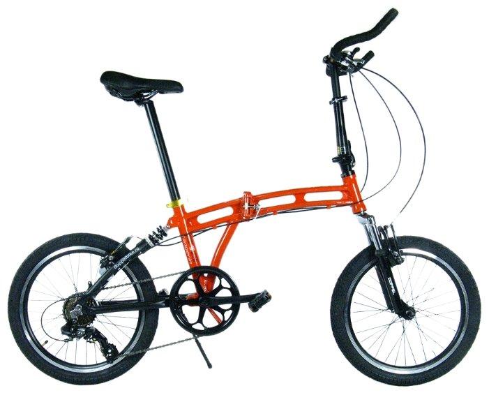 Велосипед для взрослых DOTABIKE 212 XL Tangerin