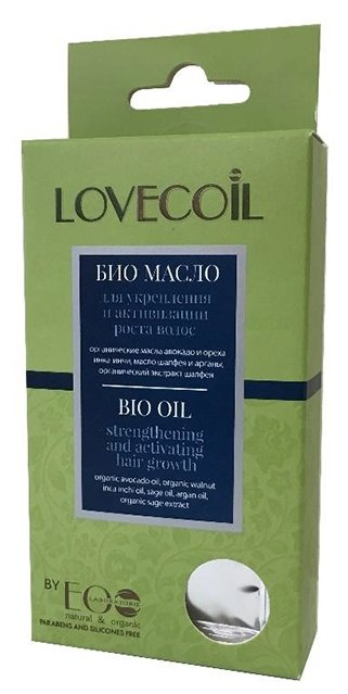 EO Laboratorie Lovecoil Масло для укрепления и активизации роста волос