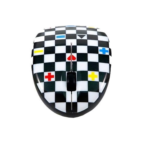 Мышь Bodino CHECKMATE Black-White USB