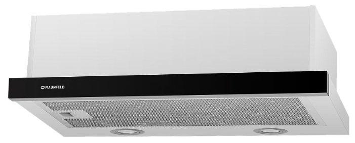 Встраиваемая вытяжка MAUNFELD VS Light Glass 50 Gl белый/черное стекло