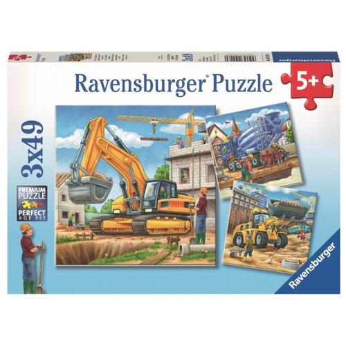 Набор пазлов Ravensburger Большие строительные машины (09226), Пазлы  - купить со скидкой