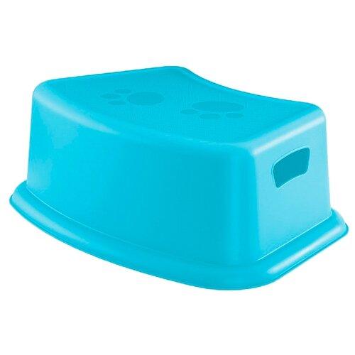 Купить Подставка для умывания Бытпласт 4313671 голубой, Сиденья, подставки, горки