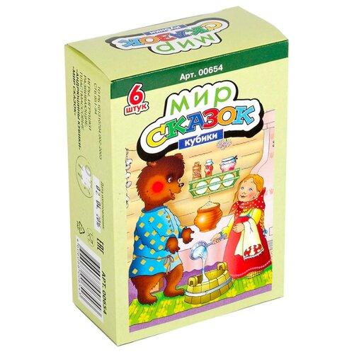 Купить Кубики-пазлы Десятое королевство Мир сказок-1 00654, Детские кубики