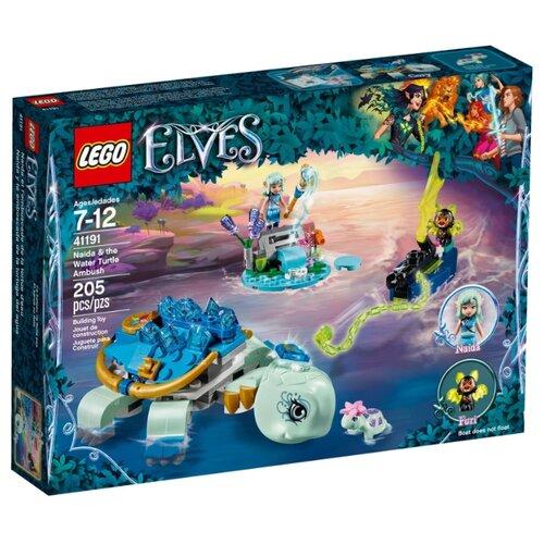 Конструктор LEGO Elves 41191 Засада Наиды и Водяной черепахи lego elves 41193 конструктор лего эльфы эйра и дракон песня ветра