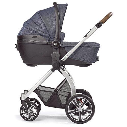 Купить Универсальная коляска Gesslein Indy Bubble (2 в 1) denim, цвет шасси: серебристый, Коляски