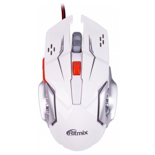 Мышь Ritmix ROM-355 White USB мышь проводная ritmix rom 380sc чёрный usb