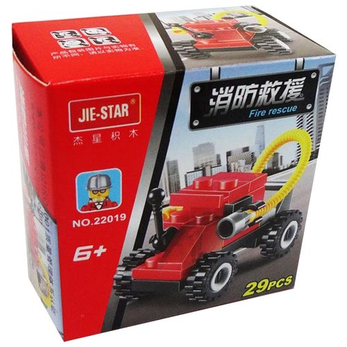 Конструктор Jie Star Fire Rescue 22019
